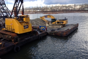 Supply And Installation Of Scour Protection For Port Mann Main - Fraser River Crossing