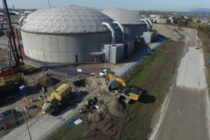 Ground Improvement And Utilities Relocation Contract Annacis Island Waste Water Treatment Plant