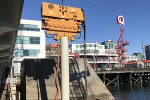 SeaBus Maintenance Dock Temporary Berth Construction