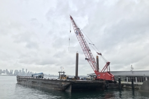 SeaBus Maintenance Dock Temporary Berth Construction