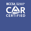 COR Certified BCCSA Logo